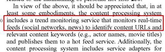 Demand-driven distribution of content